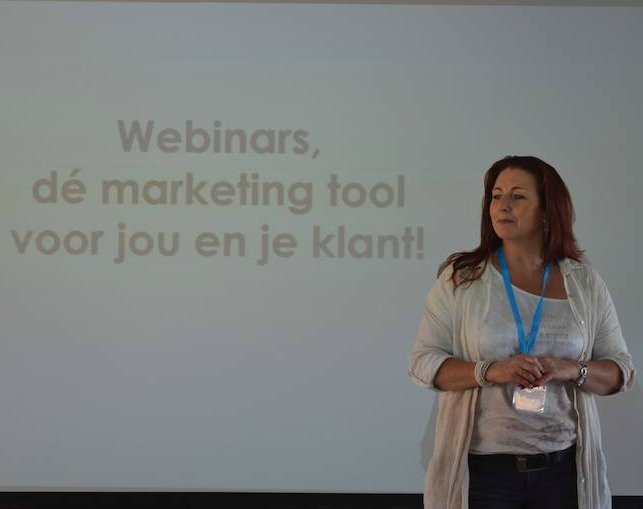 Anita Faber - Webinarcoach en Online Business Assistant
